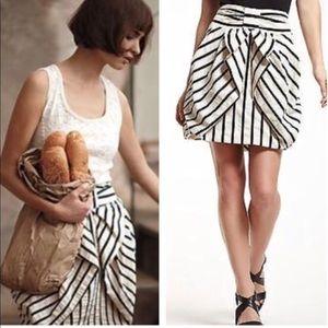 Antropologie Eva Franco bow skirt